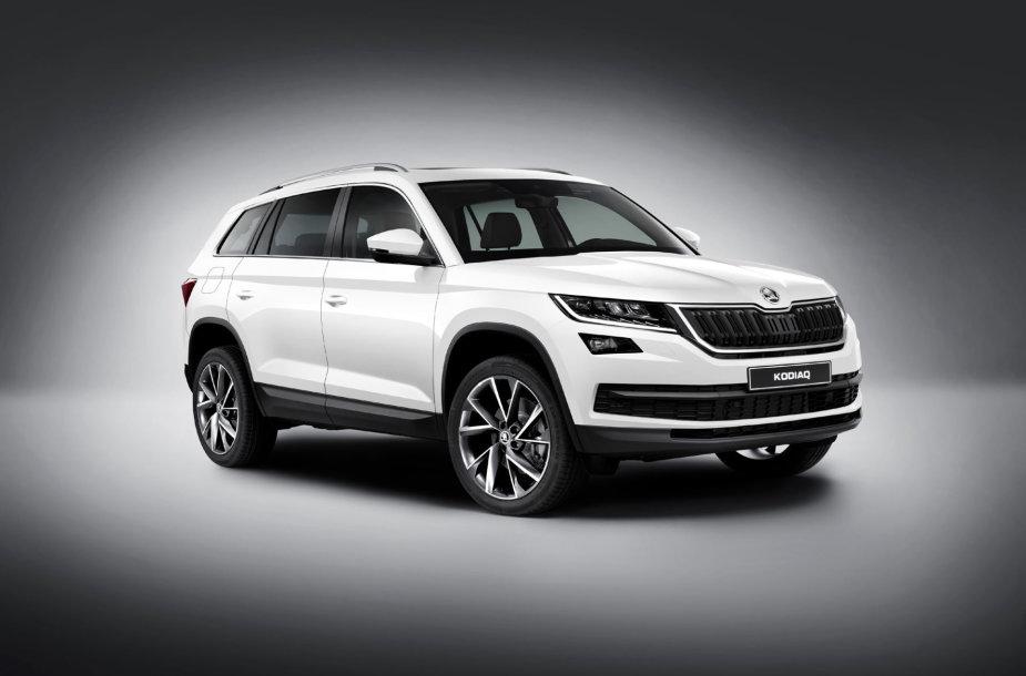 """Berlyne pristatytas naujas čekų visureigis """"Škoda Kodiaq"""""""