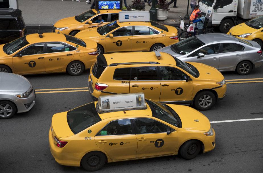 Taksi Niujorke