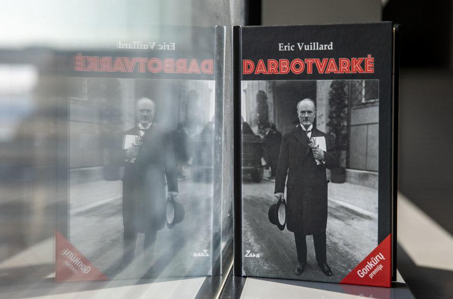 """Erico Vuillardo knyga 'Darbotvarkė"""""""