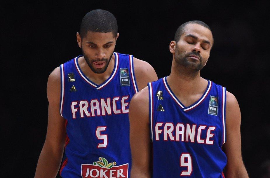 Eurobasket 2015: Ispanija – Prancūzija