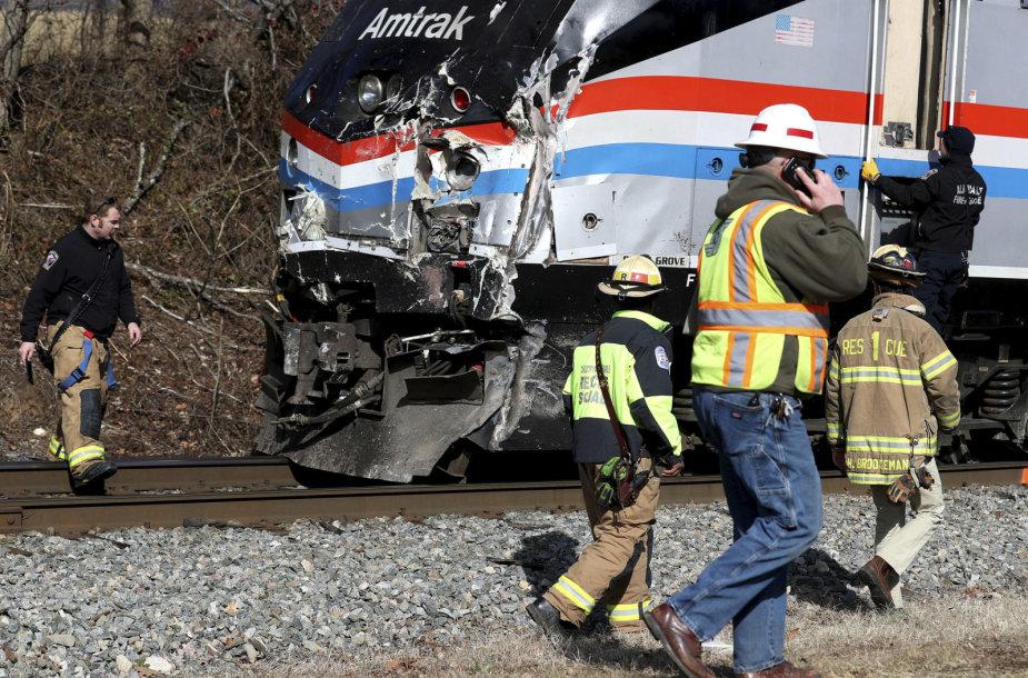 Respublikonus vežusio traukinio avarija