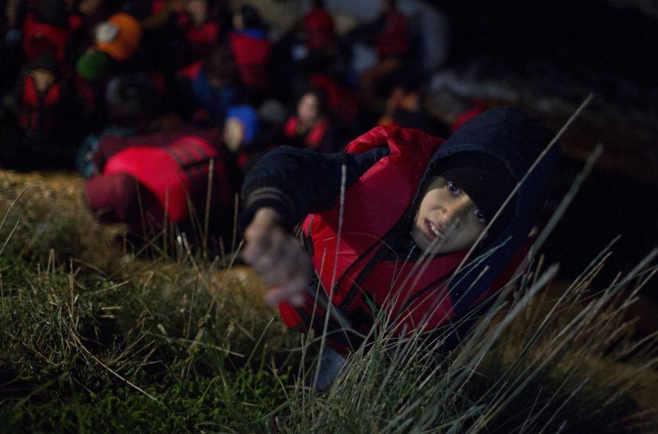 Migrantų žieminė kelionė į Europą