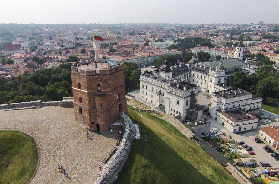 Gedimino pilis ir Valdovų rūmai
