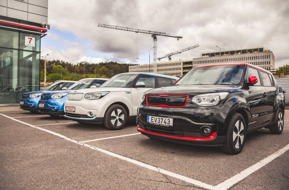 """Auto Bild Lietuva"" surengtos elektromobilių lenktynės"