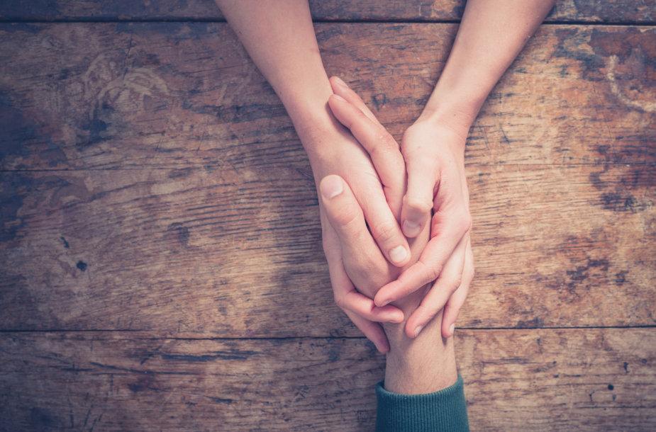 Mylimųjų rankos