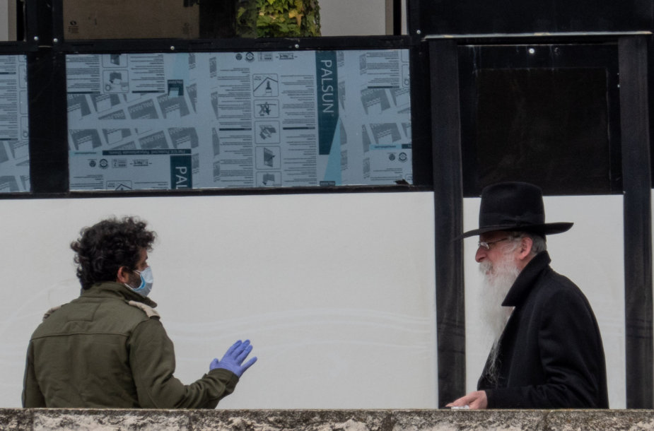 Izraelis koronaviruso pandemijos metu