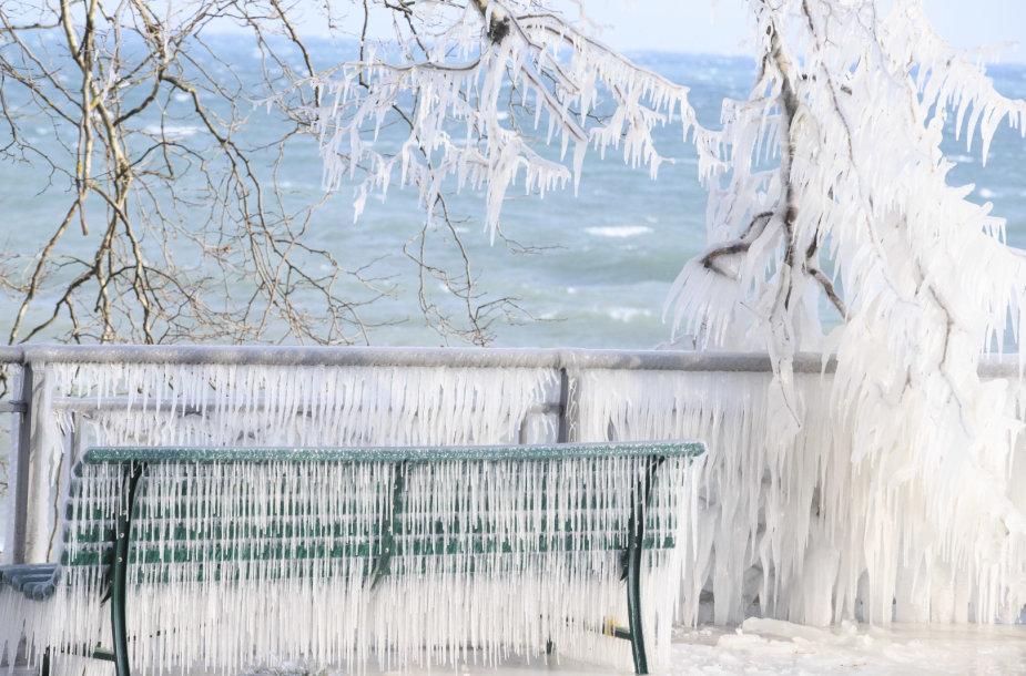 Europą sukaustė iš Sibiro atslinkusi šalčio banga