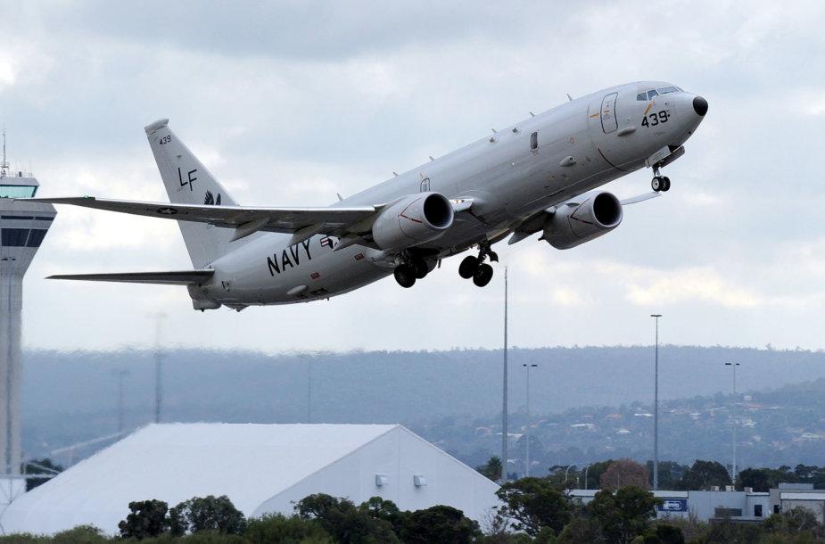 """JAV karinių pajėgų lėktuvas """"Poseidon"""