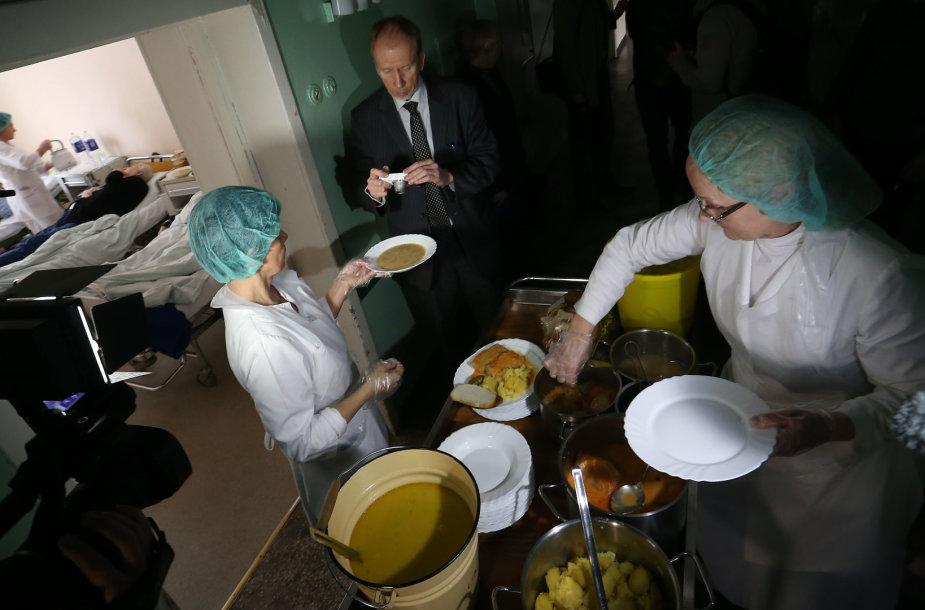 Kauno klinikinėje ligoninėje tikrinamas maistas