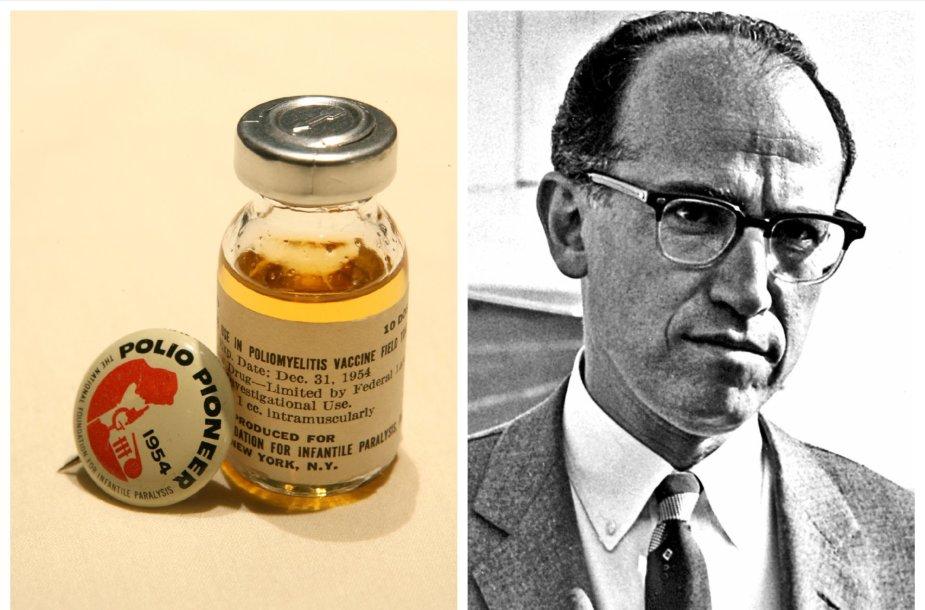 Poliomielito vakcina ir Jonas Salkas