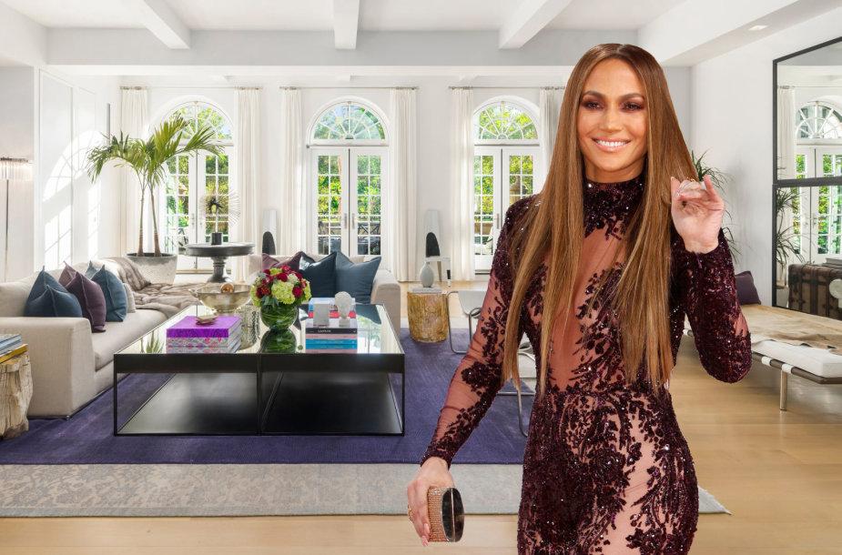 Jennifer Lopez už 27 mln. parduoda svajonių penthauzą Manhatane