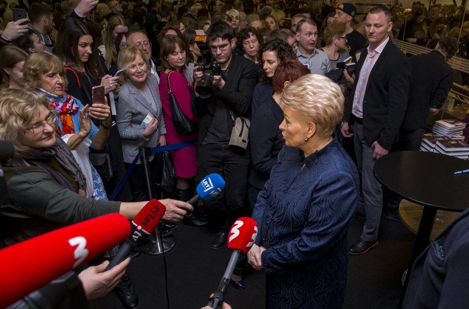 Susitikimas su kadenciją baigusia LR Prezidente Dalia Grybauskaite. Kalbina Deividas Jursevičius