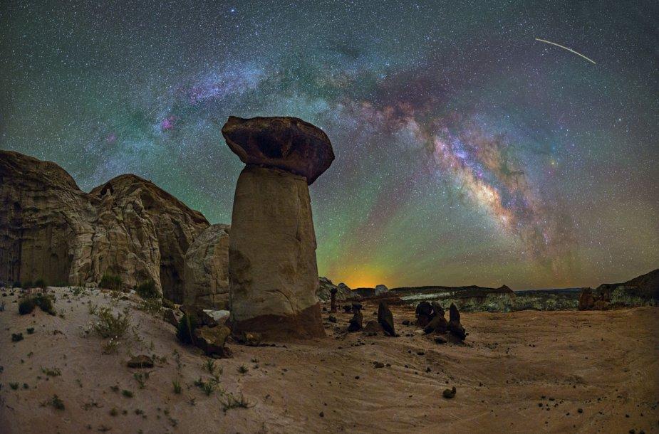 Peizažai su Paukščių taku