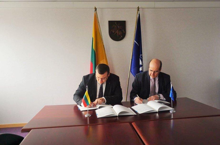 Briuselyje – NATO ir Lietuvos susitarimas dėl kibernetinio saugumo stiprinimo