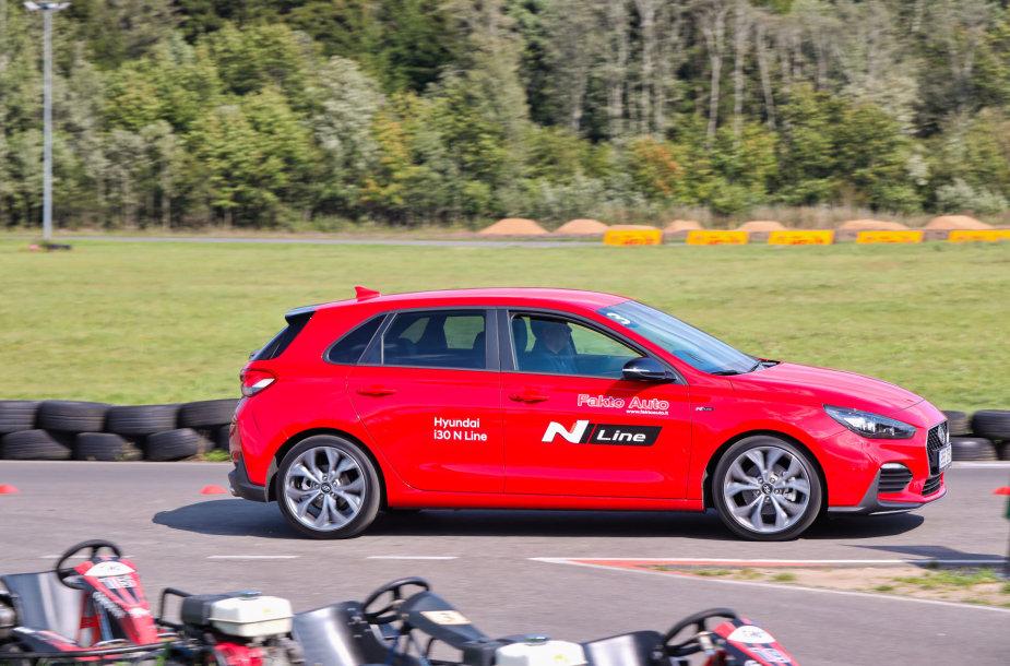 """""""Hyundai"""" vairavimo iššūkyje – modelių gama ir magiška raidė N"""