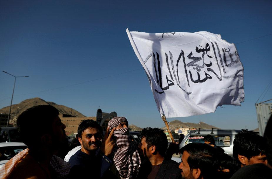 Talibano vėliava