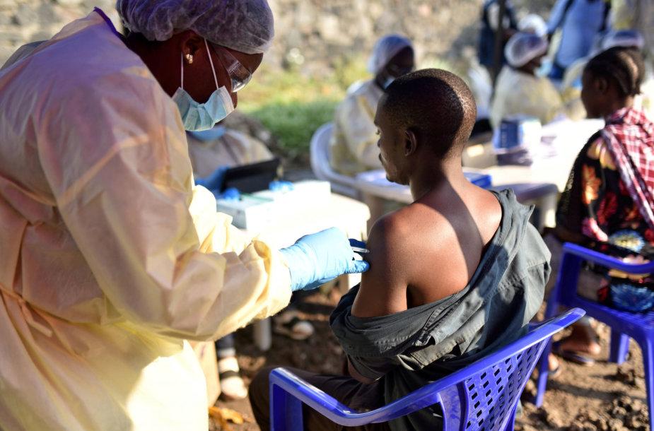 Ebolos karštligės protrūkis Kongo Demokratinėje Respublikoje