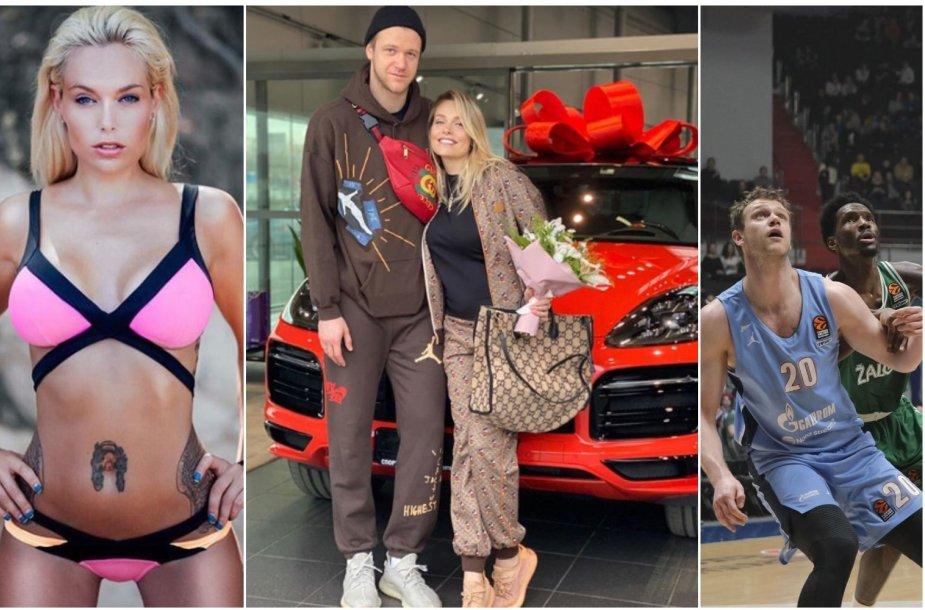 Andrejus Zubkovas savo žmonai Marijai gimtadienio proga padovanojo mašiną.
