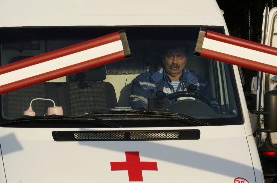 Greitosios pagalbos automobilis Maskvoje