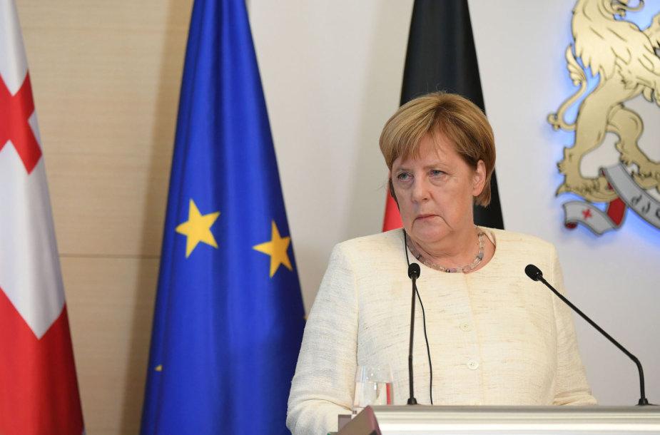 A.Merkel Gruzijoje