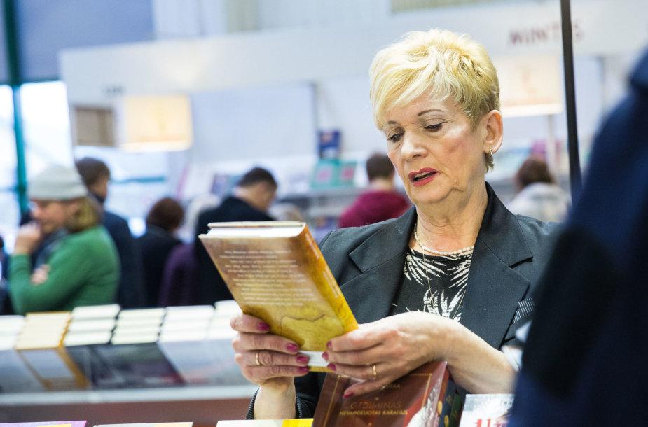 Vilniaus knygų mugės atidarymo akimirka