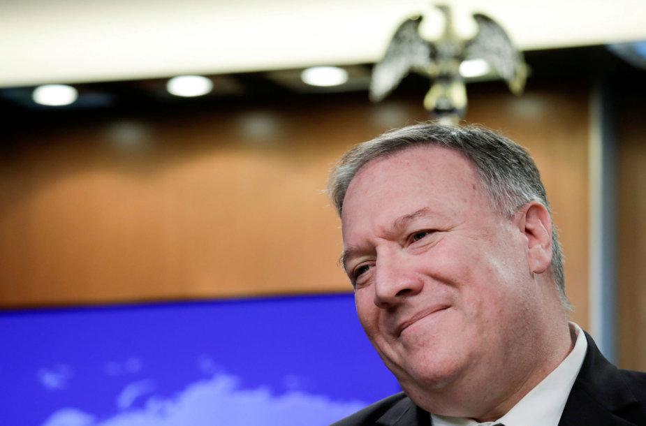 JAV valstybės sekretorius Mike'as Pompeo