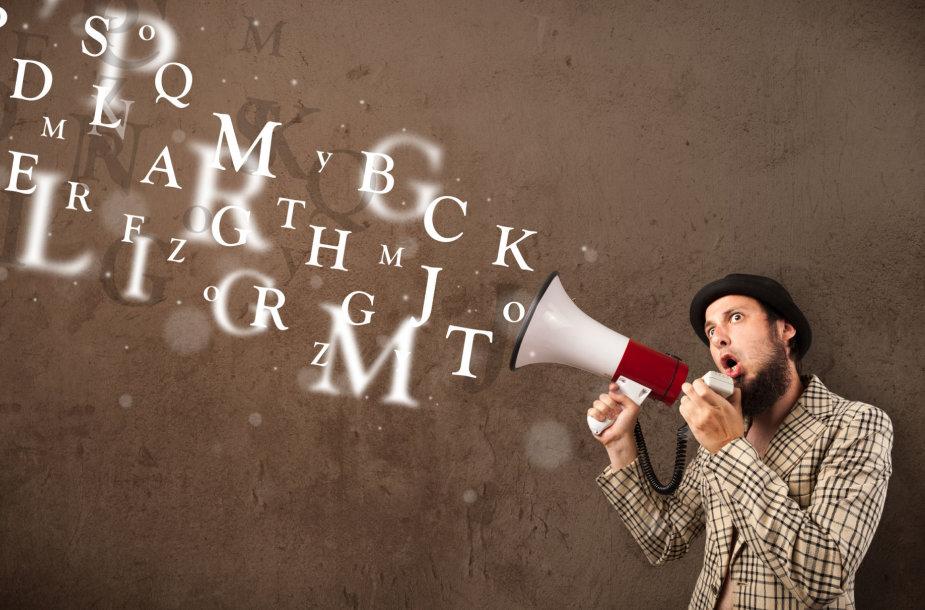 Kaip jūsų pasakyti žodžiai veikia kitus?