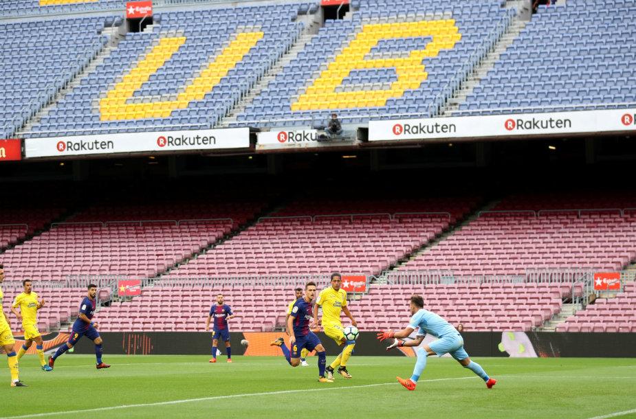 """Sirgaliai į """"Barcelona"""" – """"Las Palmas"""" rungtynes nebuvo įleisti"""