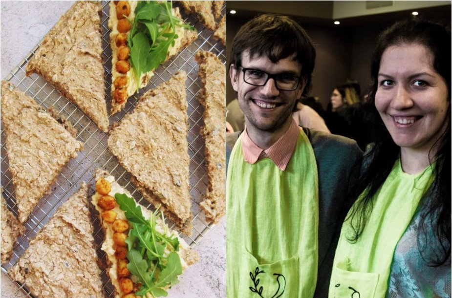 Tinklaraštininkai ir jų kepta veganiška duonelė su sėklomis