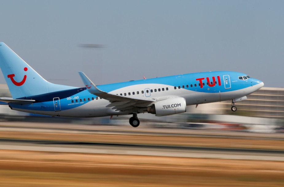 TUI lėktuvas
