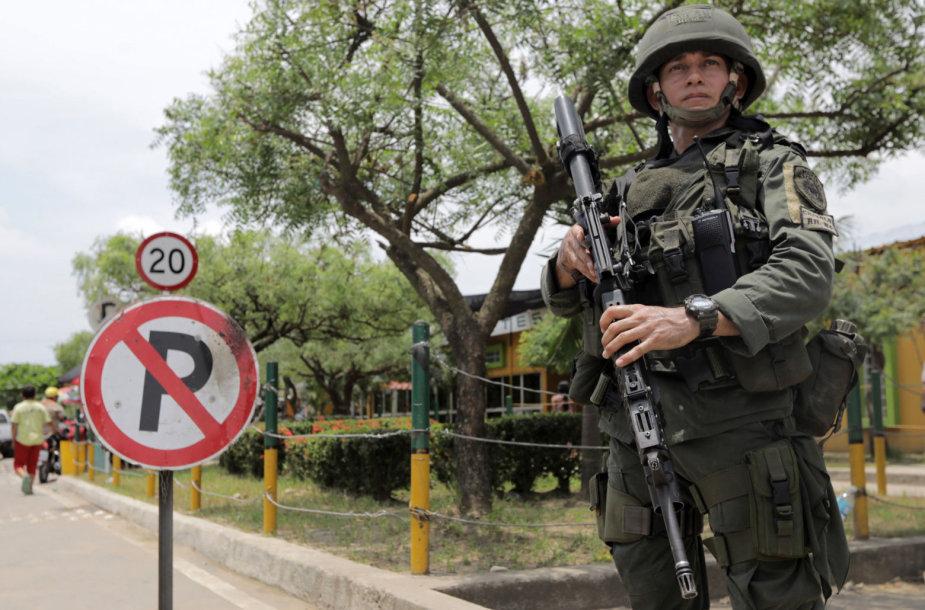 Per Kolumbijos kariuomenės operaciją nukauti 11 FARC disidentų