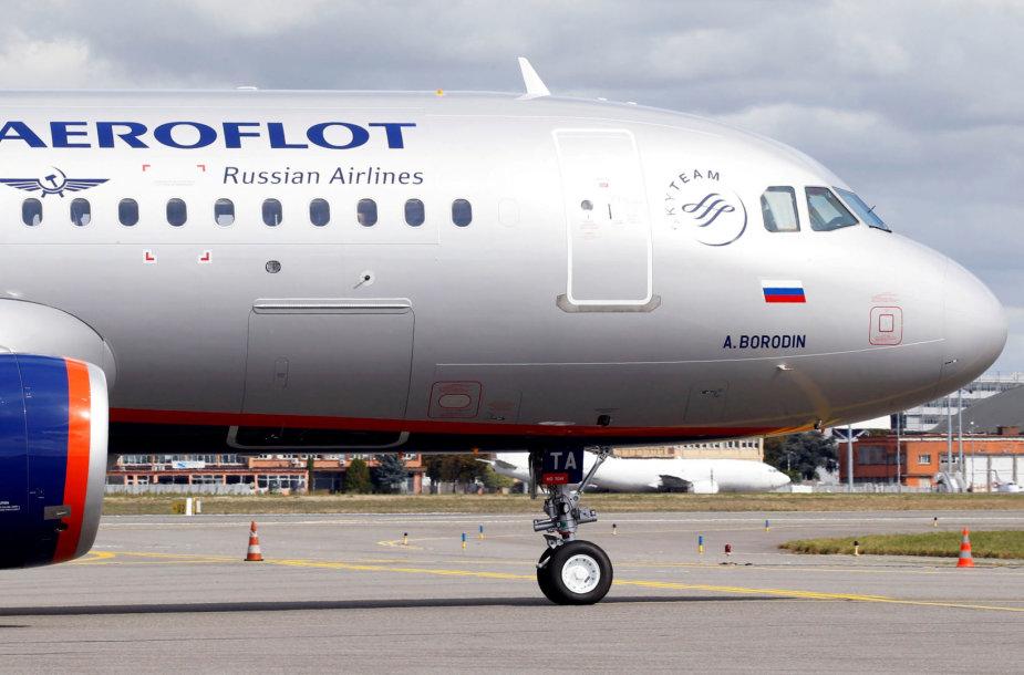"""Aeroflot"" lėktuvas"