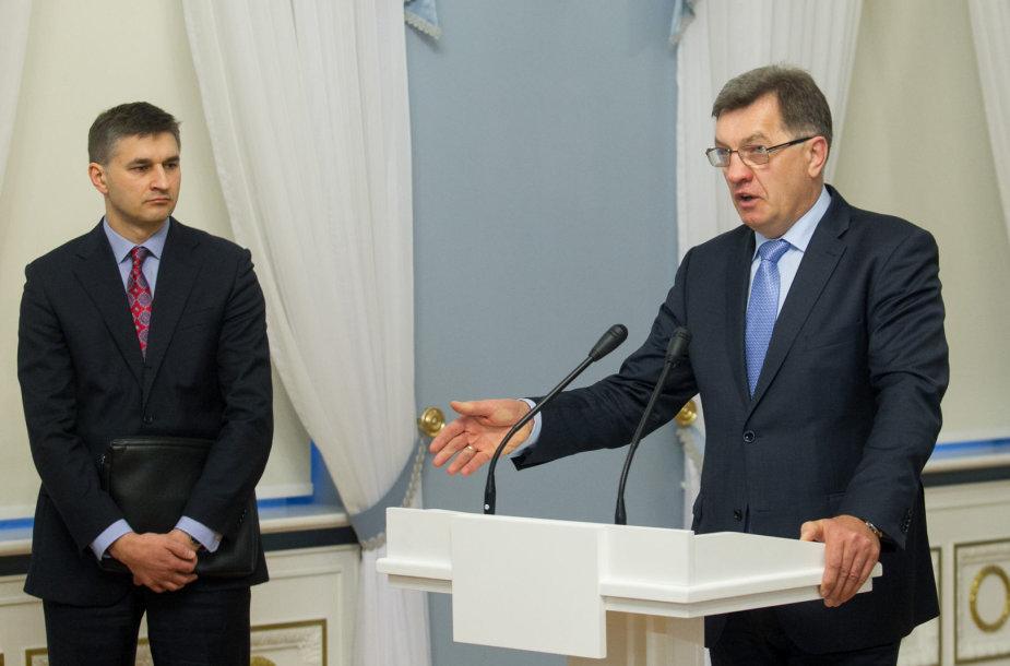 Jaroslavas Neverovičius ir Algirdas Butkevičius