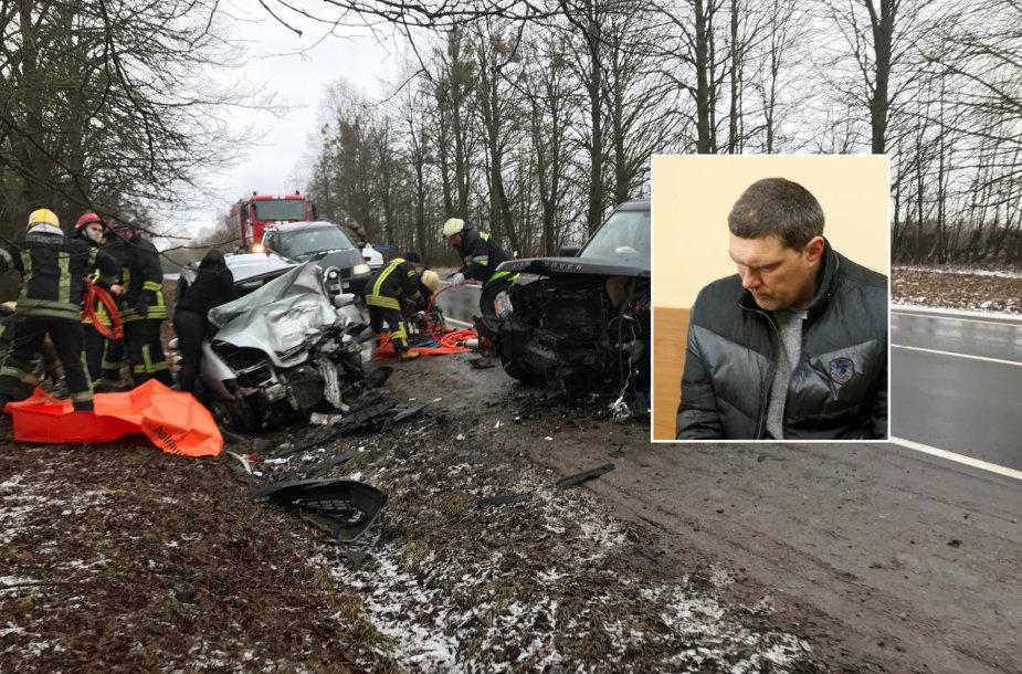 Avarijos Prienų rajone kaltininkas teisme