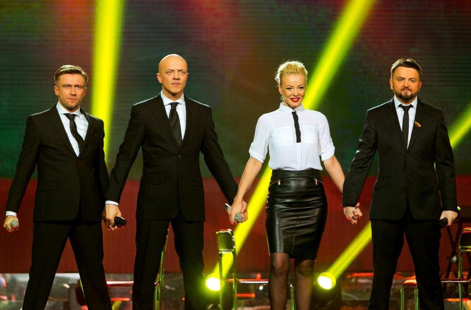 Mia, Stano, Marius Jampolskis ir Ramūnas Rudokas