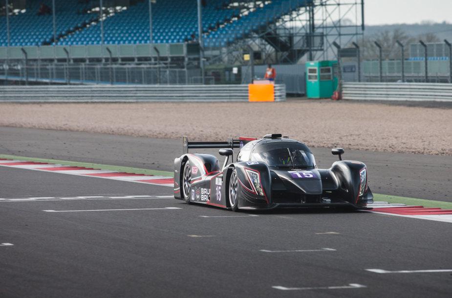 """European Le Mans series"" treniruotė Silverstone"