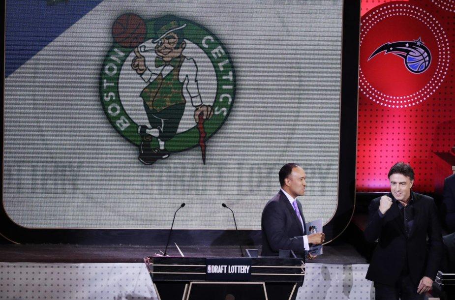 NBA naujokų biržos loterija 2017