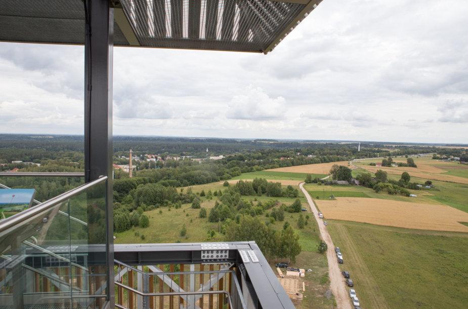 Birštone atidarytas aukščiausias Lietuvos apžvalgos bokštas