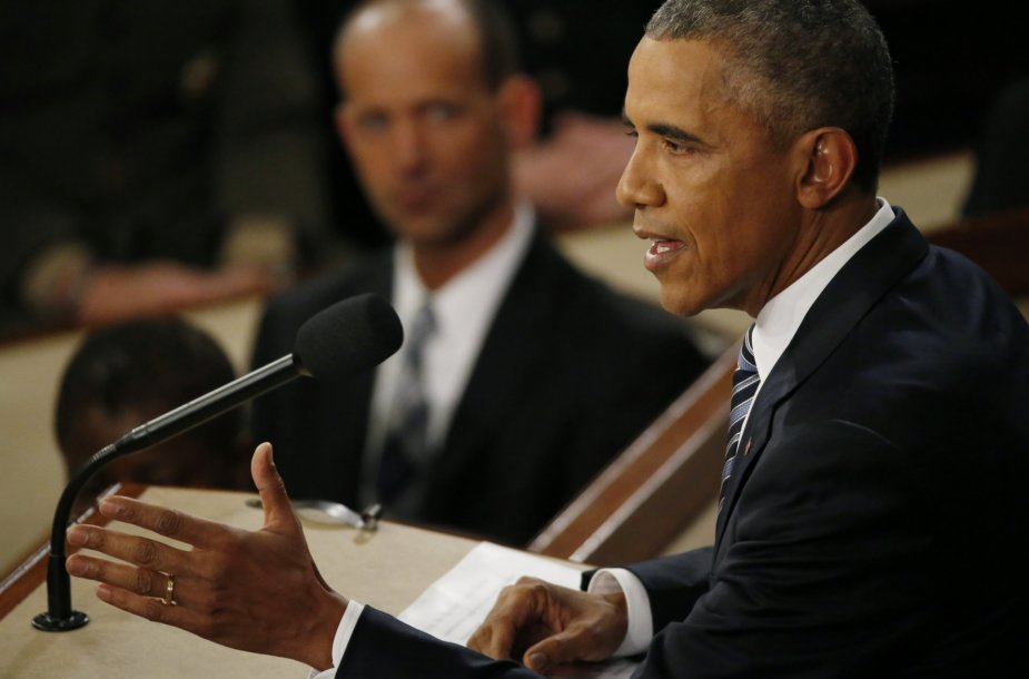 JAV Prezidento Baracko Obamos metinė kalba