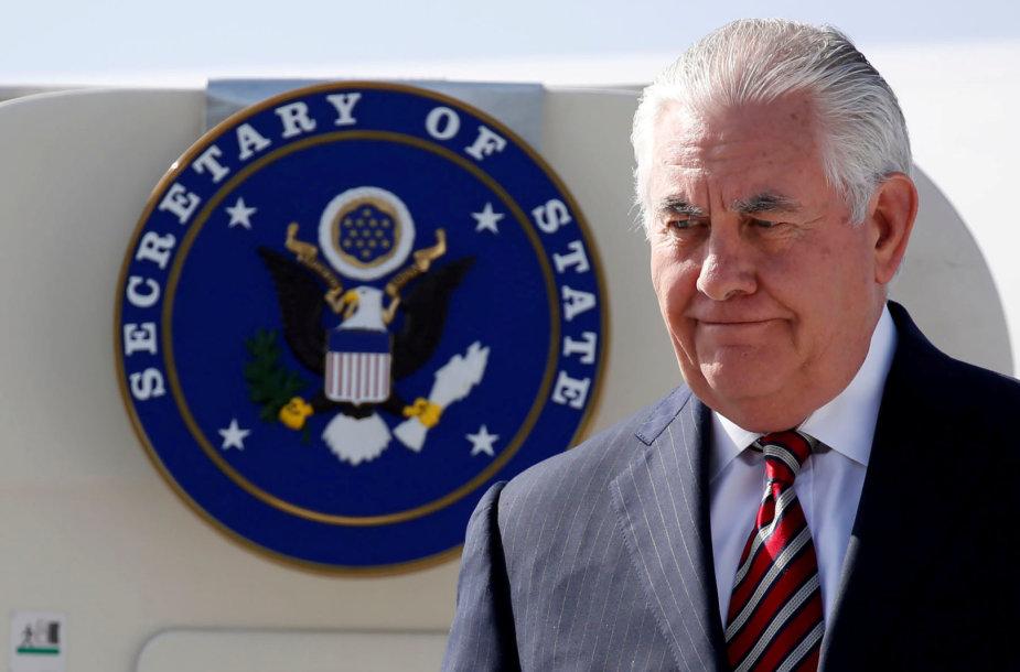 Rexas Tillersonas Džibutyje