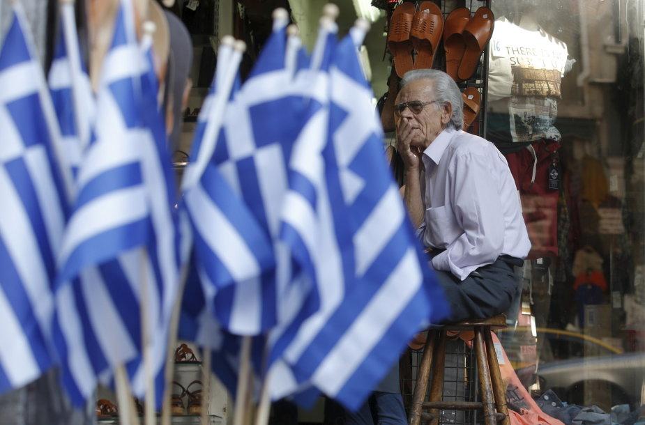 Gatvės prekeivis Atėnuose