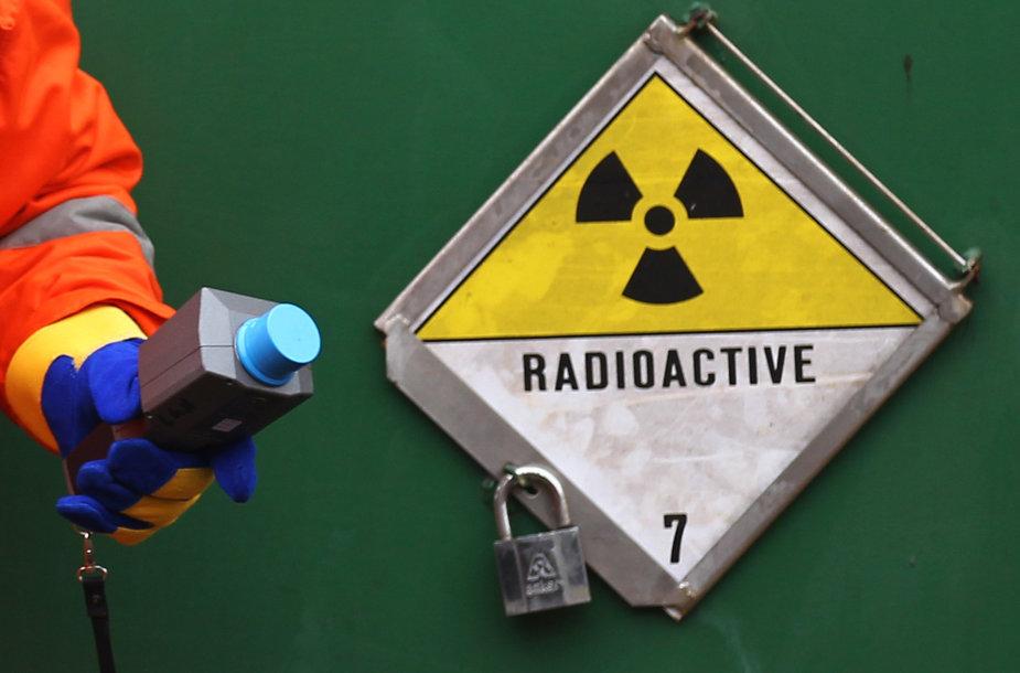 Radioaktyvi medžiaga