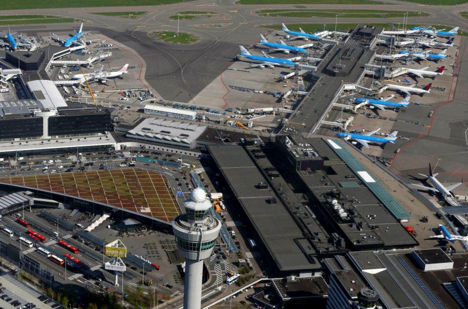 Amsterdamo Schipholio oro uostas
