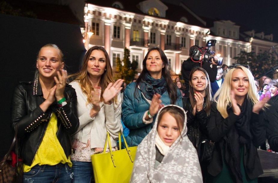Simona Kniazevičiūtė, Tatjana Lavrinovič, Kotryna Kunigėlė, Viktorija Pocienė, Oksana Pikul-Jasaitienė