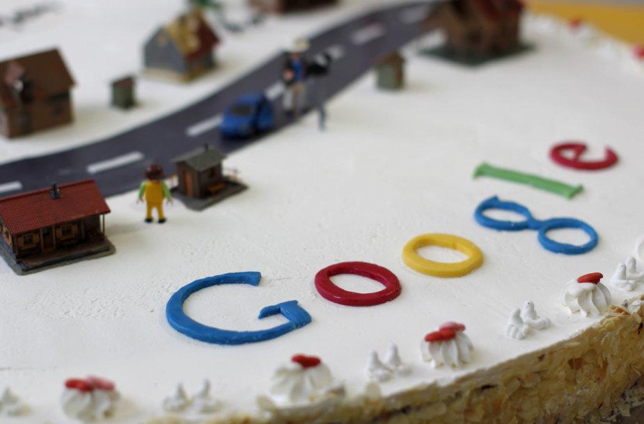 """""""Google"""" gimtadienio tortas"""