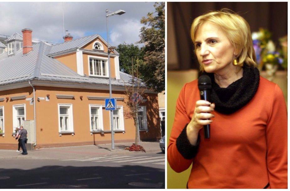 Šio pastato istorija išduoda, kaip Karaliaus Mindaugo centro direktorės pavaduotoja Jolanta Valiulienė pasipinigavo iš savo darbovietės