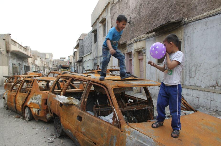 Vaikai buvusioje IS teritorijoje