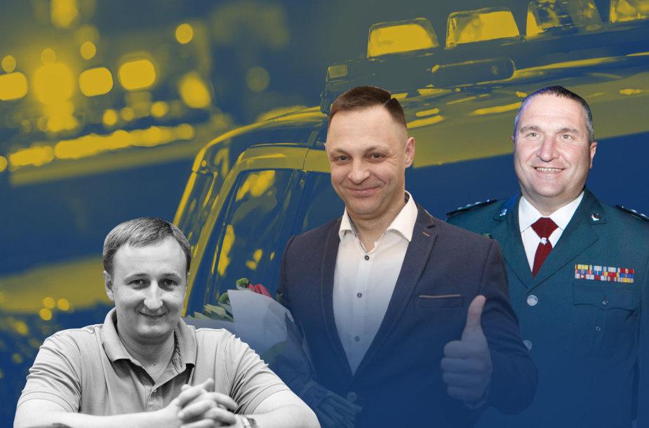 V.Prochorenka, G.Gatulis ir D.Žukauskas