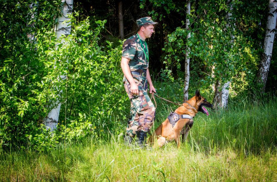 A.Komskio nušautas tarnybinis šuo Ramzis