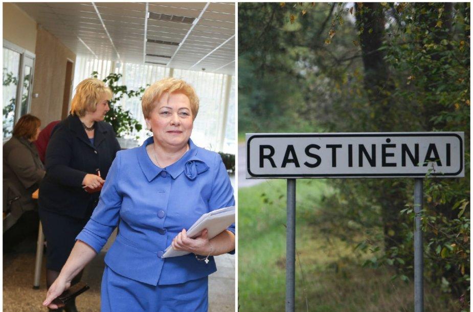 Vilniaus r. merė Marija Rekst; Rastinėnai